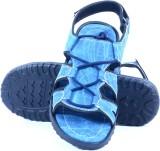 Shoegaro Men Blue Sandals