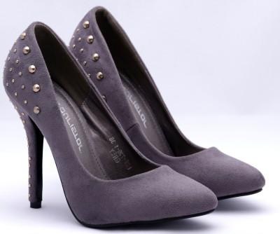 Touristor Gem Women Grey Heels