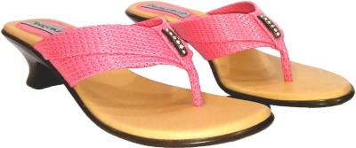 Foot Craft Women Pink Heels