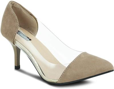 Get Glamr Montana Women Beige Heels