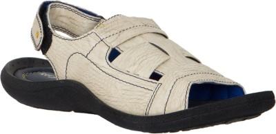 Randier Men White Sandals