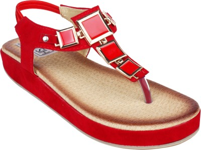 Histeria Women Red Flats