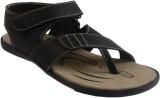 Shoegaro Men Black Sandals
