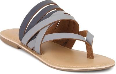 Zebba Women Blue Flats