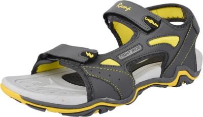 Campus Men, Boys Grey, Yellow Sandals