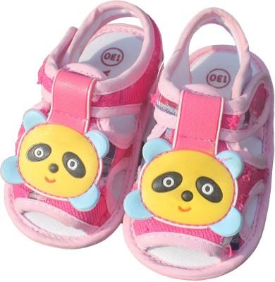 Mankoose Baby Boys Pink Sandals