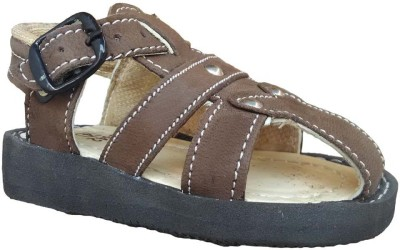Tonit Baby Girls, Baby Boys Brown Sandals