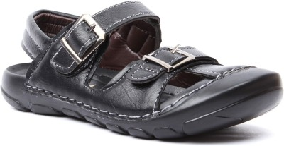 Foot Candy Boys Black Sandals