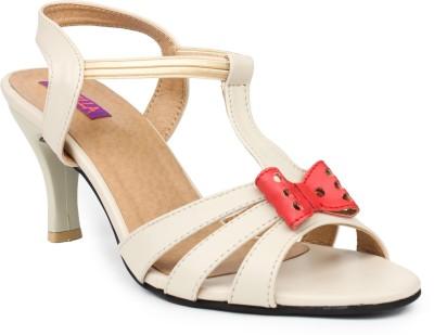 Fiorella Women Beige Heels