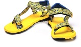 Unistar Men Yellow Sandals