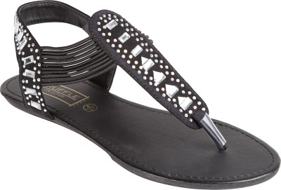 Truffle Collection Women Black Flats