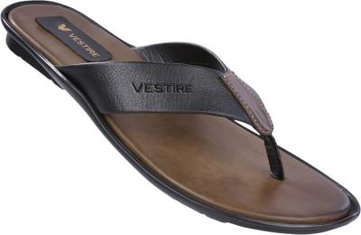 Vestire Men Black, Brown Sandals