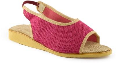 Kakolikrishti Women Pink Flats