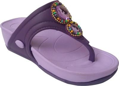 Rex Women Purple Wedges