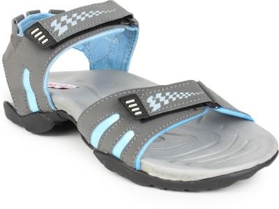 Do Bhai Men Grey Sandals