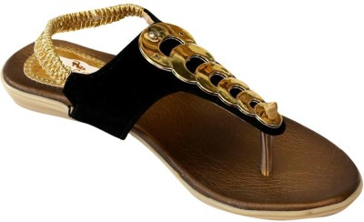 Recent Collection Girls Black Sandals