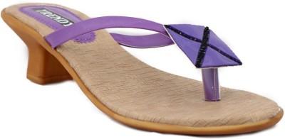 Trendy Enterprises Women Purple Heels