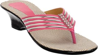 Brandvilla Women Pink Heels