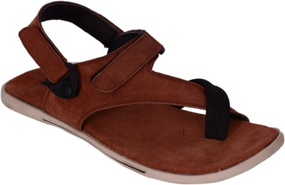 LE MEN,Z Men Maroon Sandals