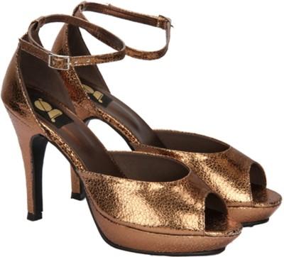 Gossip Women Gold Heels