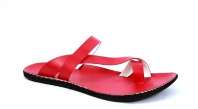 Lee Fox Men Red Sandals