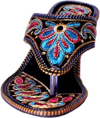 Indcrown Women Multicolor Wedges