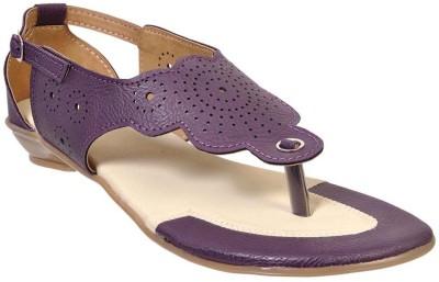 Fescon Women Blue Sandals