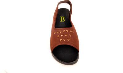 Bshoes Women Brown Flats