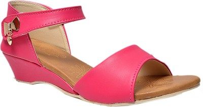 Crayon&collection Girls Pink Sandals