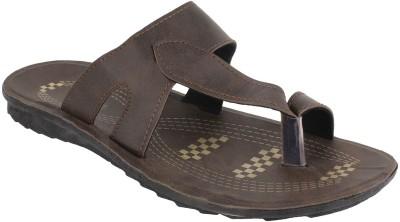 Vivaan Footwear Khaki-836 Men Khaki Sandals
