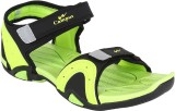 Campus Men Bk::FGrn Sandals