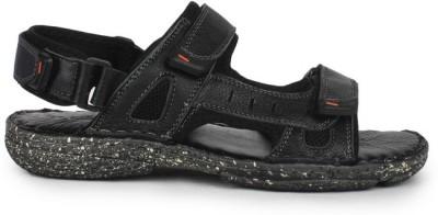 Delchi Men Black Sandals