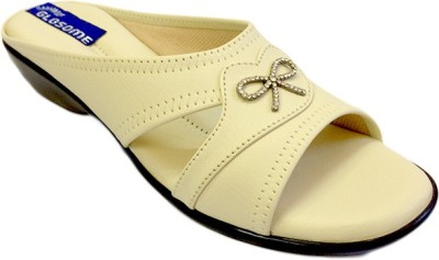 Russo Fashion Designer Women Beige Flats