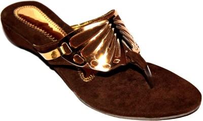 Angeela Girls Brown Sandals