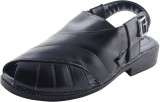 Maine Haiten Men Black Sandals
