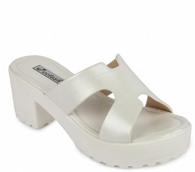 FOOTASH Women White Wedges