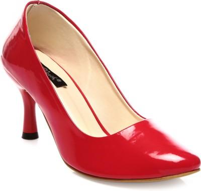Wellworth Classic Pumps Women Red Heels