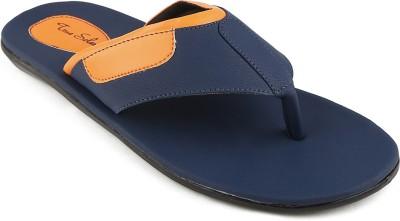 True Soles Men Blue Sandals