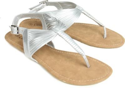 Starchi Women Silver Flats