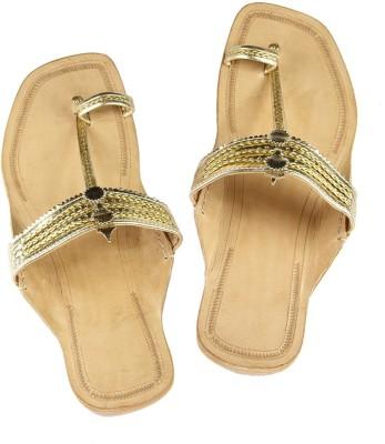 Ekolhapuri Women Gold Flats