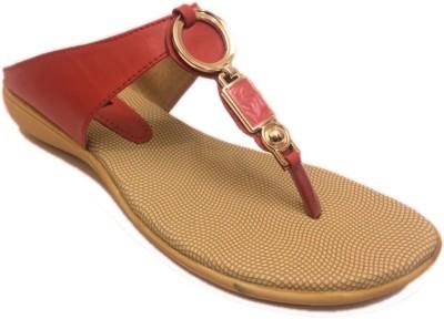 STEFINO Women Red Flats