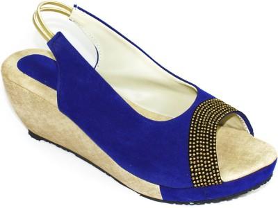 Maayas Women Blue Heels