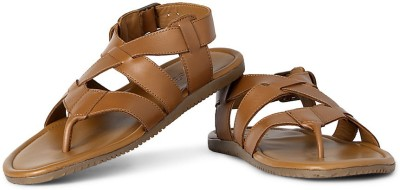 Louis Philippe Men Brown Sandals