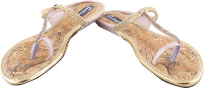 Footings Women Beige Flats