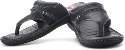 Lee Cooper Men Black, White Sandals