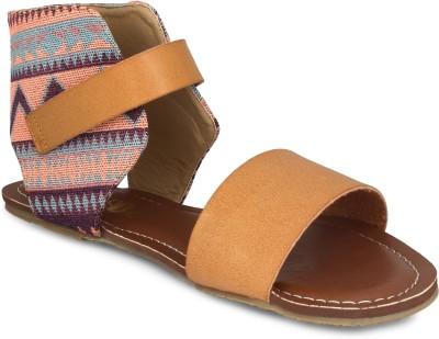 20Dresses Women Brown, Multicolor Flats