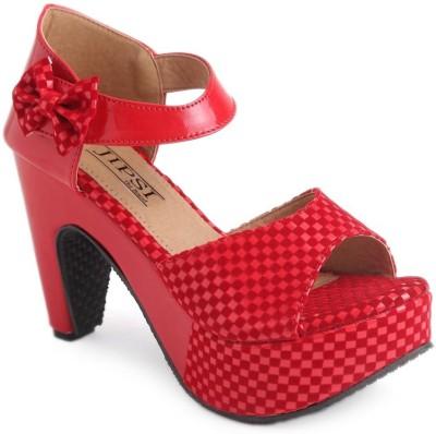 JIPSI Women Red Heels
