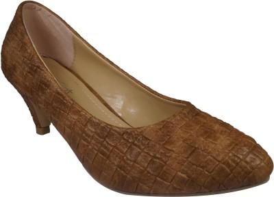 Ladela Women Brown Heels