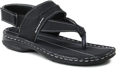 GISOLE Men Black Sandals