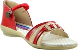 Supreme Leather Girls Sports Sandals